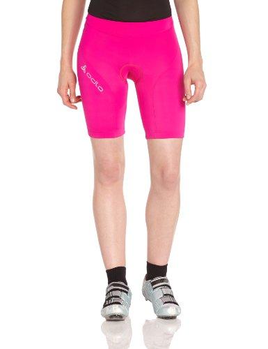 Odlo - Culotes de Ciclismo para Mujer, tamaño 34/36 (XS), Color Rosa