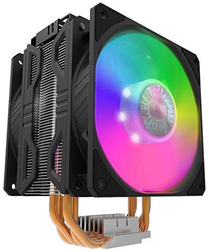 Cooler Master Hyper 212 LED Turbo ARGB サイドフロー型 ARGB デュアルファン 空冷CPUクーラー RR-212TK-18PA-R1 FN1573