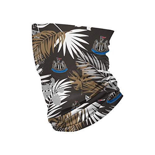 Forever Collectibles UK Newcastle United FC Football Crest All Over Print Floral Snood Neck Scarf