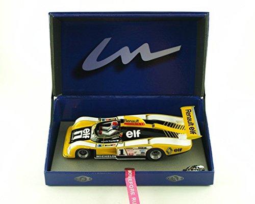 Spark 1//43 pour Hachette Japon OPO 10 08 Renault Alpine A442B #2 Winner Le Mans 1978 Pironi-Jaussaud