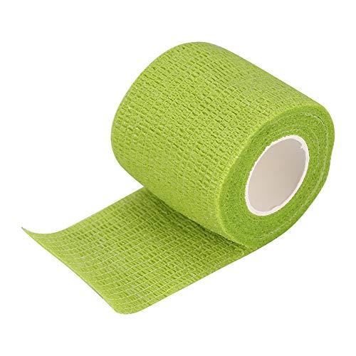 Samoprzylepny bandaż do tatuażu sportowego o wysokiej odporności na działanie wody, elastyczna przyczepność, 4,5 cm x 5 m (zielony)
