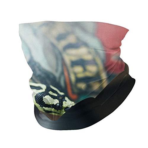 Vielfalt Kopftuch Mode Gesichtsmaske Schlange Arm Tattoo Waage sonnenfest Mode Bandana Kopfbedeckung Gesichtshandtuch für Damen und Herren