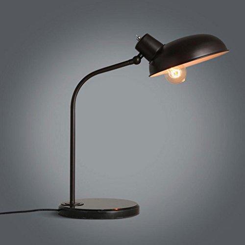 Lampe de table lampe de bureau Lampe de table en fer lampe de chevet de chambre à coucher lampe de bureau d'hôtel réglable bureau de bureau personnalisé bureau lampe de bureau d'étude, LED