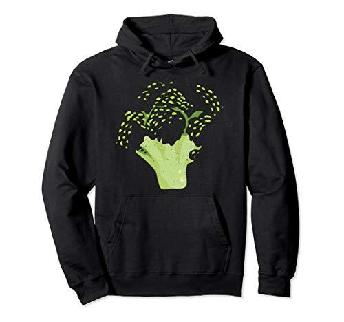 Broccoli Funny Veggie Lover Halloween Costume Pullover Hoodie