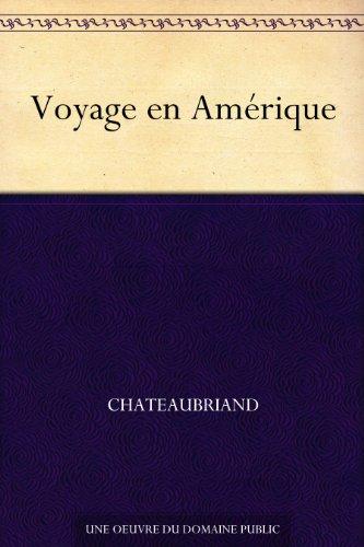 Couverture du livre Voyage en Amérique