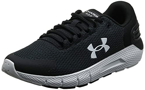 Under Armour mens Charged Assert 9 Running Shoe, Black (003 Black, 10.5 US