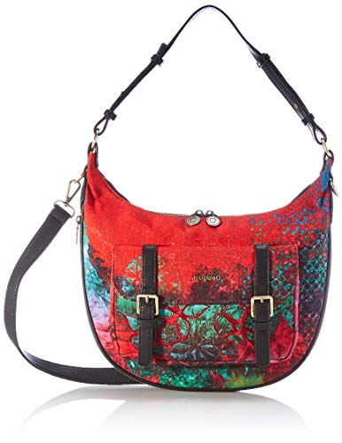 Desigual Womens Accessories Fabric Shoulder Bag, RED, U