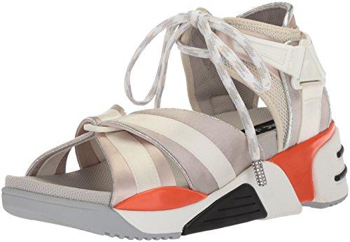 Marc Jacobs Damen Somewhere Sport Sandale, Aus Weiß/Mehrfarbig, 37 EU