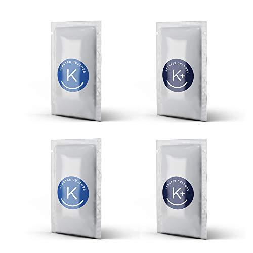 Milk Kefir Starter Culture Mix 4 Pack