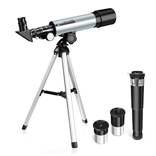 Loadfckcer Telescopio Astronomico Ultra-Alto Claro De 70 MM para Telescopio Celestron Adecuado para La Visualización Terrestre Y Uso Astronómico