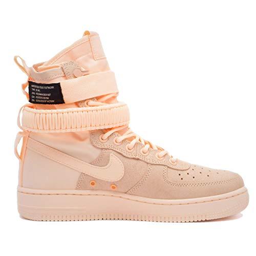 Nike Damenschuhe Stiefel W SF AF1 in rosa Stoff 857872-800