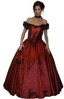 Maylynn 11523 – Vestido rococó, Vestido Barroco, Disfraz Scarlett, 3 Piezas Talla S