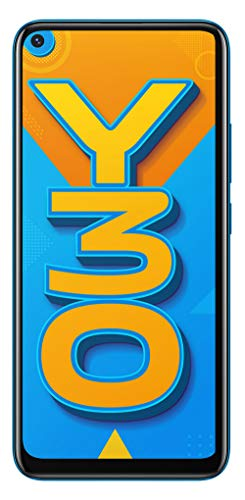 Vivo Y30 (Dazzle Blue, 6GB RAM, 128GB ROM) with No Cost EMI/Additional Exchange Offers