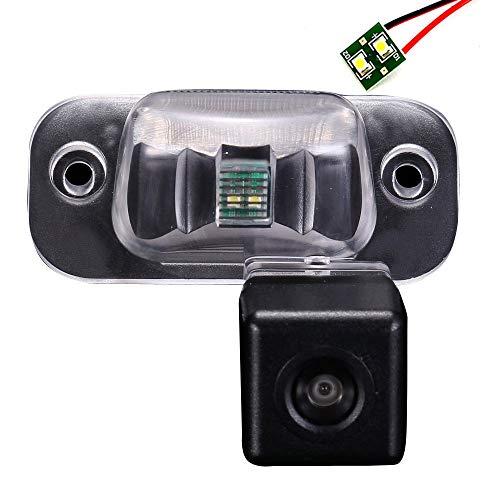 Cámara de visión Trasera Placa de Licencia Cámara de Aparcamiento para Audi 50 60 75 80 8C B4 100 200 4A C4 Avant Coupe A1 A2 A3 A4 A5 A6 A7 A8 C4 C5 Cabriolet