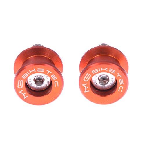 Preisvergleich Produktbild Ständeraufnahmen M8 Alu orange MG-Biketec