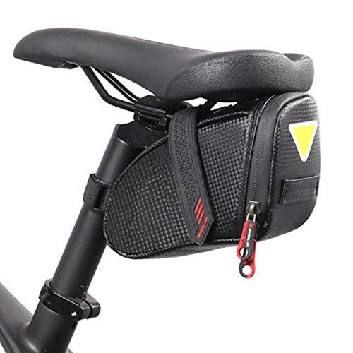Zavddy Bolsa de Asiento Trasero de Bicicleta Cuadro de la Bicicleta Accesorios de Silla de Montar Bicicleta Bolsa de Almacenamiento Bolsa de Ciclismo Bolsa de sillín de Bicicleta