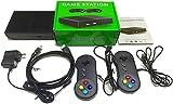 Consolas Retro con Juegos 4K Classic Consola Videojuegos, Incorporados 821 Juegos Mini Consola Retro con 2 Controladores, Soporte TF Expand (Negro)
