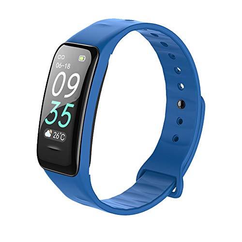 FengshuAI Fitnesstracker, smart armband, met lange tijd, bloeddruk, hartslag, waterdicht, sportarmband, kleurenscherm, stappenteller
