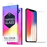 HD Clarity Screen Protector for iPhone XR 6.1-Inch(2018 Release),Anti-Scratch Tempered Glass Screen Protector Designed for iPhone XR with Touch Accurate and Impact Absorb,3-Pack Clear