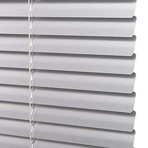 Persiana Veneciana de Aluminio Gris con Listones de 25 mm, Mini Persiana con Protección Contra La Luz y El Deslumbramiento para Dormitorio, Cocina, Fácil de Limpiar ( Size : 105x240cm/41×95in )