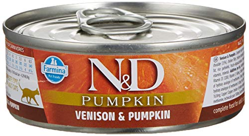 Farmina N&d Wet Cat Pumpkin Cervo 80g
