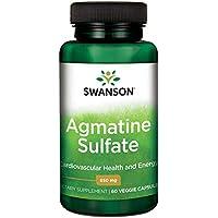 Swanson Agmatine Sulfate 650 Milligrams 60 Veg Capsules