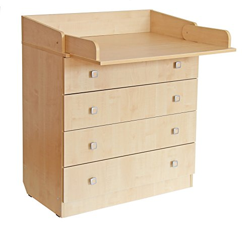 POLINI–cambiar fácilmente la unidad de cajón con junta, número 1580, Natural