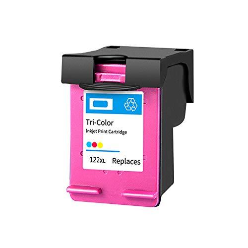 Reemplazo remanufacturado de cartuchos de tinta 122xl, para HP 1010 1050 2000 2050 impresora 1*color