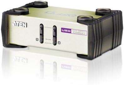ATEN 2-PORT USB-PS/2 KVM CS82U