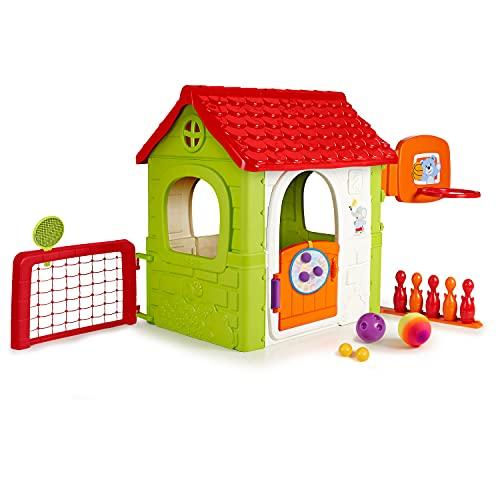 FEBER- Activity House 6in1, Casa Infantil a Partir de 3 años con Jueg