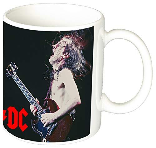 MasTazas AC/DC ACDC Angus Young B Taza Ceramica