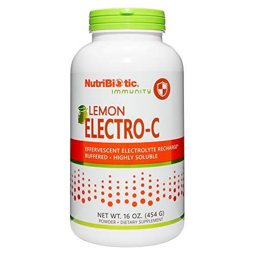 Nutribiotic Electro-C Powder, Lemon, 16 Ounce