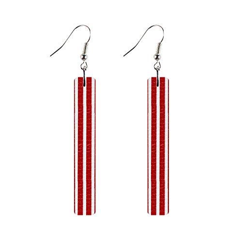 double sided long earrings - 9