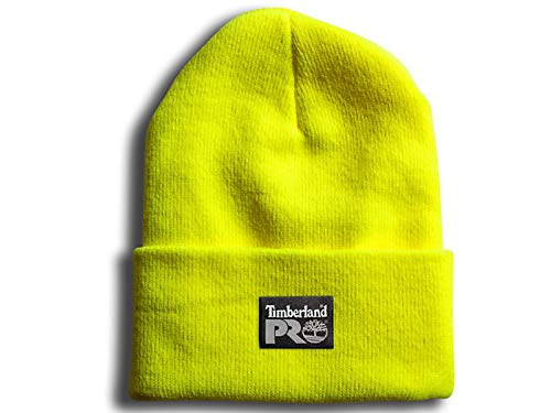 Timberland PRO Men's Watch Cap, Pro Yellow, One Size Fits All