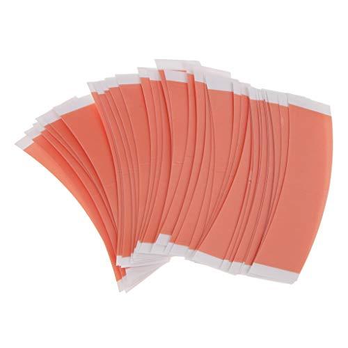 Homyl 36 étiquettes Par Paquet Ruban De Perruque à Double Face - Respirant à L'eau Durable Et Résistant à La Chaleur