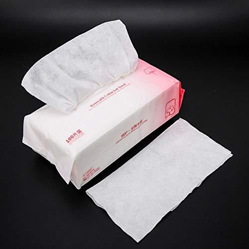 N/A Wegwerp zachte katoenen handdoeken droge natte handdoeken wassen multifunctionele afneembare schoonmaak make-up remover en schoonmaak benodigdheden