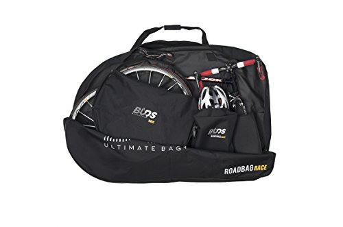 Buds-Sports - Bolsa de bicicleta ROADBag Race - Bolsa de transporte para Bicicleta sin desmontar la rueda trasera