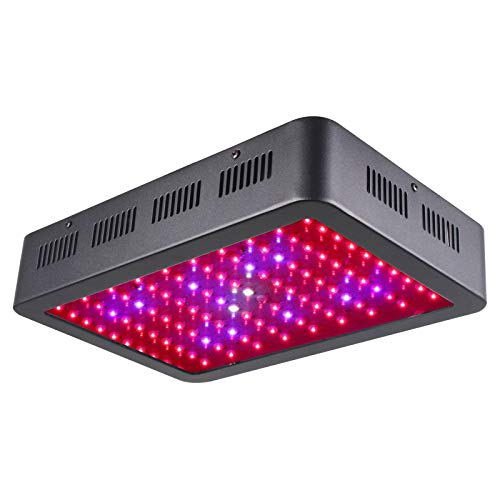 TOPLANET 1000W LED Pflanzenlampe VollSpektrum Grow Light Led Pflanzenlicht mit UV IR Licht LED Wachstumslampe für Zimmerpflanzen, Blumen und Gemüse im Gewächshaus Growbox