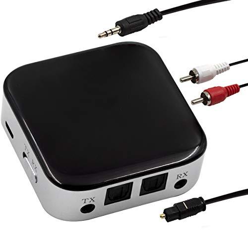 Transmissor Receptor De Audio Bluetooth 5.0 Aux Spdif Rca