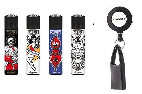 SweedZ Clipper Feuerzeug Tattoo 3