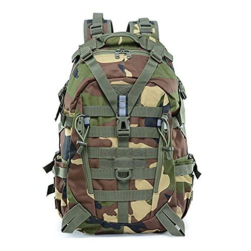 KANGDILE Camping Escursionismo Zaino Uomini Militare Tactical Bag Borse da Viaggio Outdoor Borse da Viaggio Army Molle MULTIFUNZIONAMENTO Rucksack ARCKSACK Travel Bag Bag