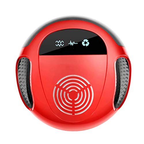 Y & Z Répulsif à ultrasons Portable Pet Safe Device-Repels Away Anti Moths, Fleas, Bed Bugs, Mosquito, Mice, Wasp Red