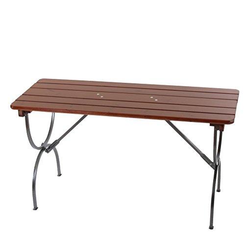 Mendler Tisch für Bierzeltgarnitur Biertisch Bierzelttisch Linz ~ 180 cm