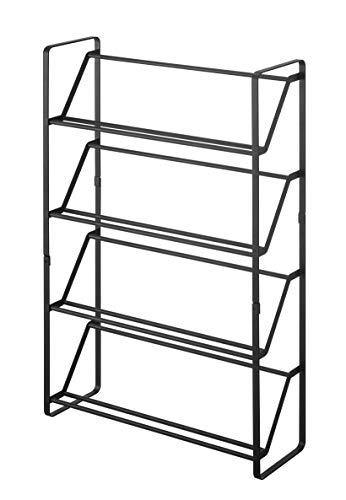 YAMAZAKI home Slim Shoe Rack, One Size, Black