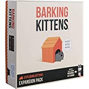Barking Kittens Expansion Set - Ridiculous Russian Roulette Card Game, Easy Family-Friendly Party Games - Card Games for Adults, Teens & Kids - 20 Card Add-on
