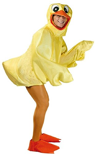 Adult Rubber Duck Duckling Easter Bird Chick Novelty Stag Do Funny Fancy Dress Costume Outfit (Large) Yellow