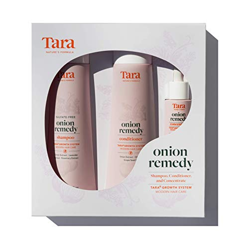 Tara Nature's Formula Onion Remedy Hair & Root Revival System