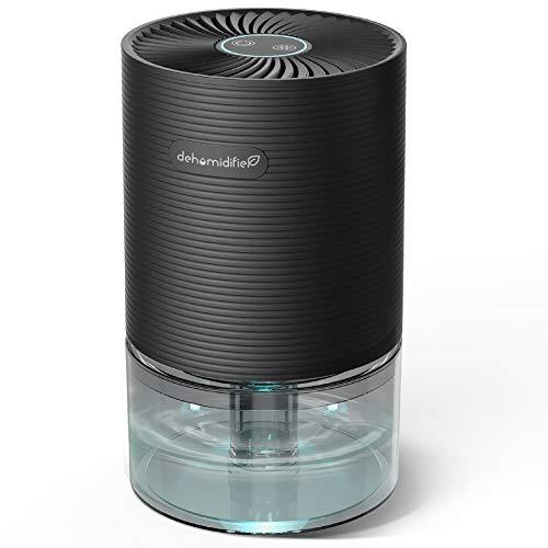 UGHEY Deumidificatore Ambiente Casa, 750 ml,7 Colori LED, Assorbiumidità Elettrico, Auto-off, Risparmio Energetico, Contro la Muffa e L'umidità per Ambienti, Casa, Armadio o Garage