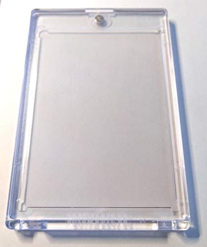 docsmagic.de 5 x Magnetic Card Holder Clear 100 PT UV Safe - Magnet Kartenhalter