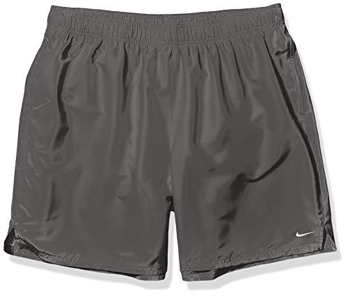 Nike Swim Men's Solid Lap 7' Volley Short Swim Trunk, Iron Grey, Large